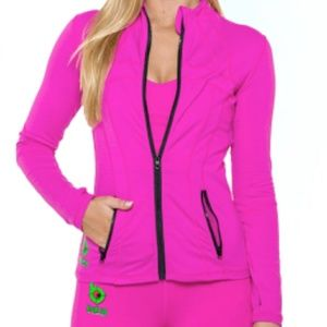 Bang Energy fitted lightweight zip runners jacket